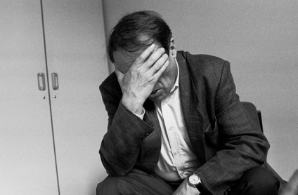 Pierre Bourdieu (photograph by Leonardo Antoniadis)
