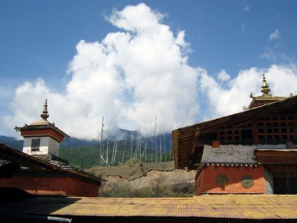 Jampey Llakhang, Chokhor valley, Bumthang (photograph by the author)