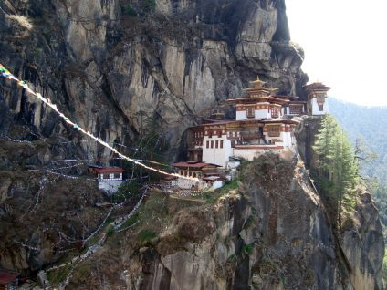 Taktang Palphug Monastery, Paro, Bhutan (photograph by the author)